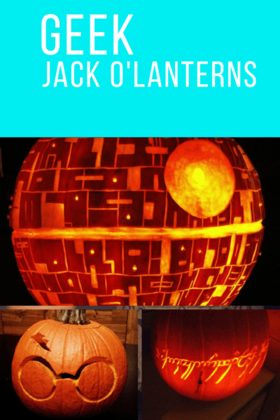 Ideas for Geek Jack O'Lanterns
