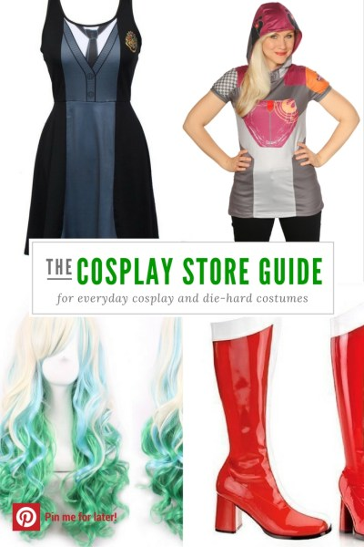 These online cosplay stores have everything you need for everyday cosplay or contest-worthy costumes.