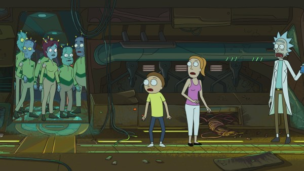 """Auto Erotic Assimilation"" on 'Rick and Morty'"