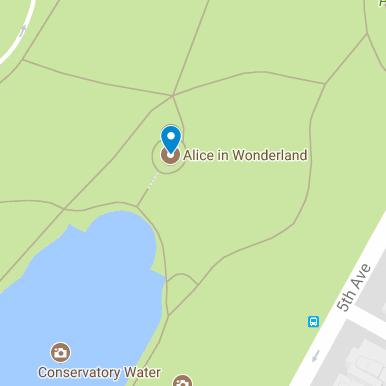 Alice in Wonderland Map