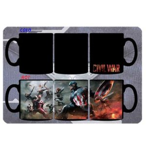 Avengers Civil War Heat Changing Mug
