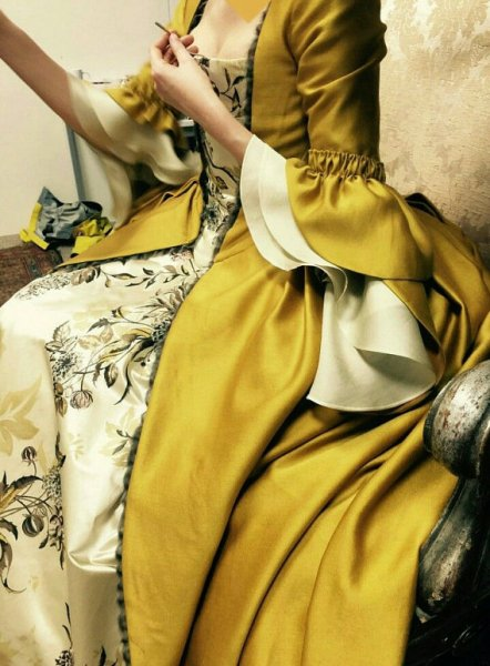 Claire Fraser Dress Gown