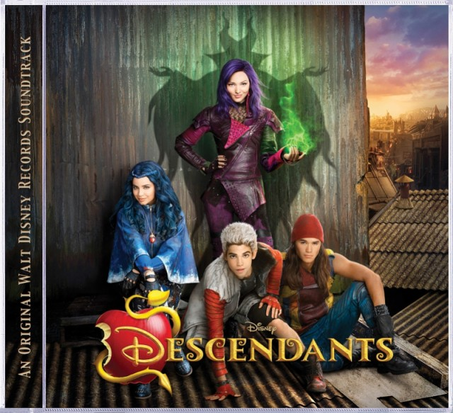 Descendants cover art (PRNewsFoto/Walt Disney Records)