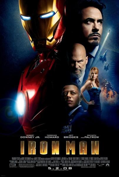 Iron Man Review Pin