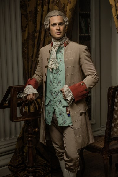 David Berry as Lord John Grey in Outlander