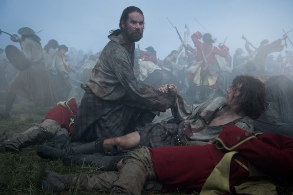 Murtagh at Culloden on Outlander