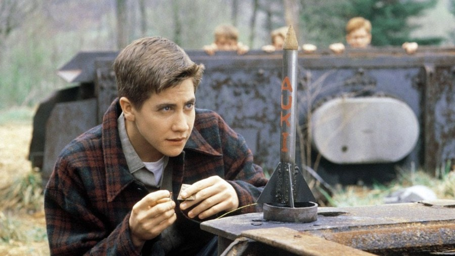 Jake Gyllenhaal in October Sky