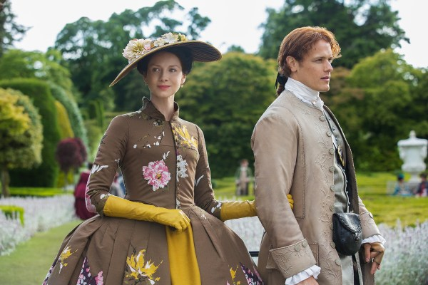 Claire and Jamie in Versaille