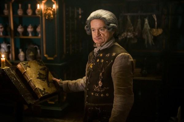 Dominique Pinon as Master Raymond in 'Outlander' Season 2