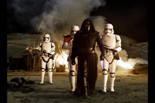 Adam Drive as Kylo Ren in 'Star Wars: The Force Awakens'