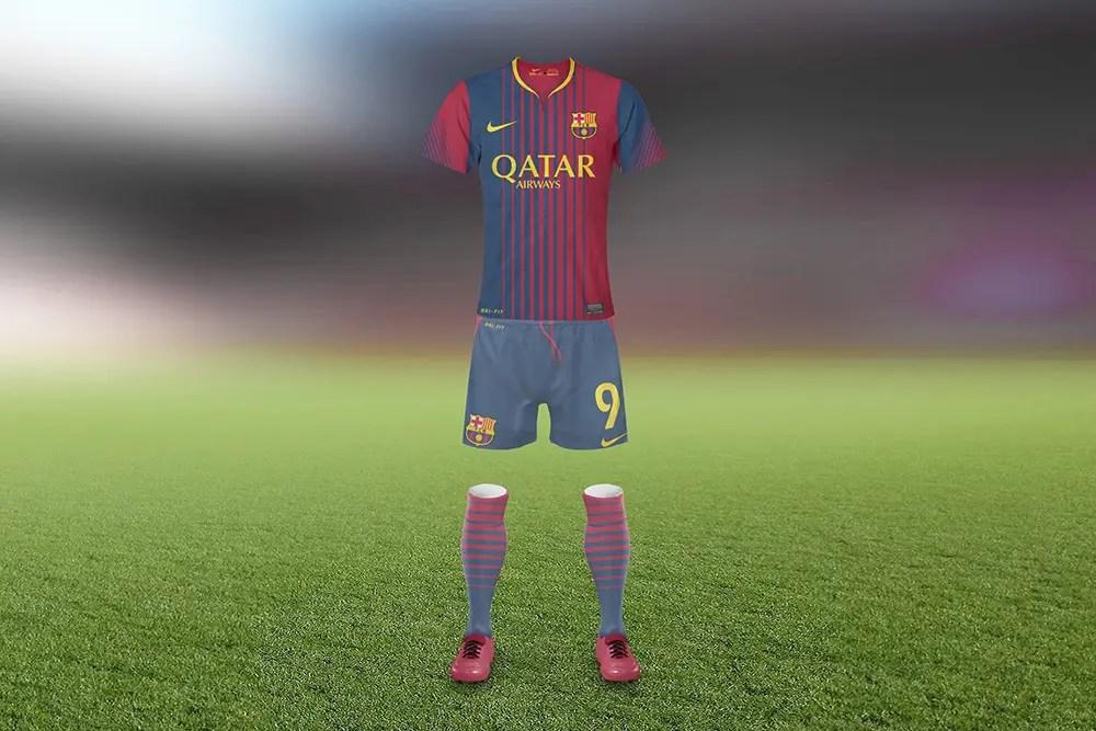 Download Soccer Jersey Uniform Mockup Generator   Mediamodifier
