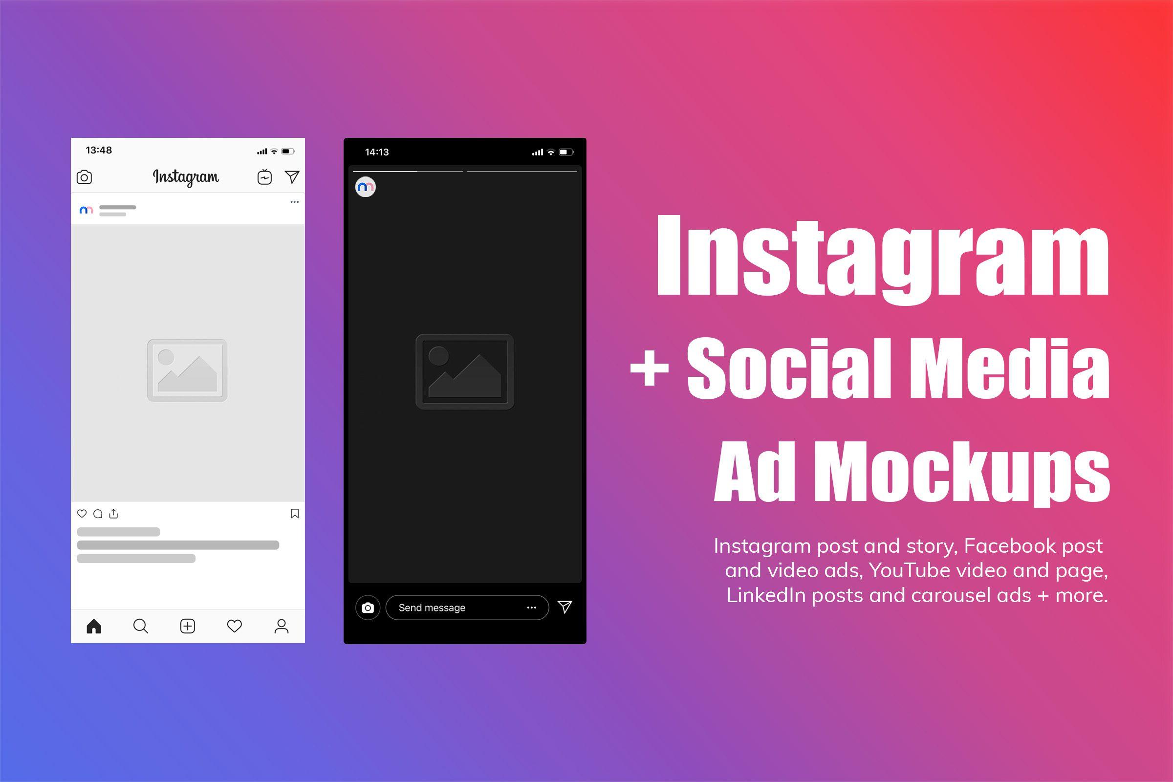 10 best linkedin mockups   mediamodifier. 31 Best Instagram And Social Media Mockups For 2021 Mediamodifier