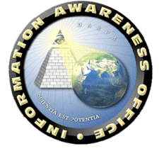 The former seal of the IAO was criticised by some for its masonic/Illuminati overtones.