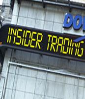 sec sees 'rampant' insider trading on wall street