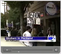 giuliani visits portland, gets 9/11 truth on local tv