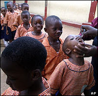 vaccine-linked polio hits nigeria