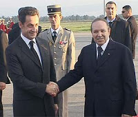 sarkozy to algeria under cloud of 'jewish lobby' row