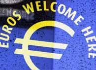 'euros accepted' signs invade new york city