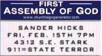 sander hicks, 'big wedding' author, in portland