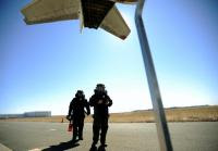drills aim to defuse bombs' threat at denver's 'new world airport'