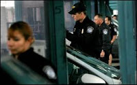 border agents worked on the dark side