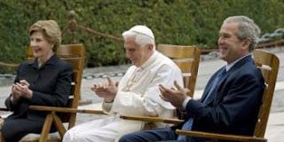 will bush convert to catholicism like phony tony?
