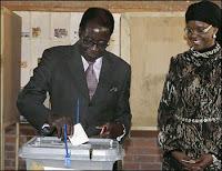 mugabe once again sworn in as president