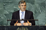 gordon brown calls for 'a new global financial order'