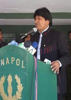 bolivian president says dea encourages drug trafficking