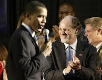 let the change begin: obama considers sachs' corzine for treasury secretary