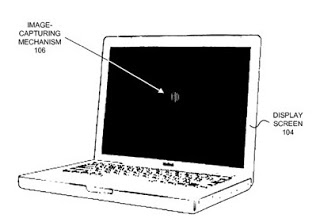 apple files patent for a camera hidden behind the screen