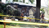 small plane crashes into florida home