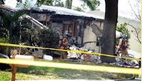small plane crashes into florida home