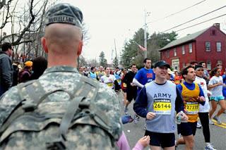 combat support battalion deployed to 'maintain public order' at boston marathon