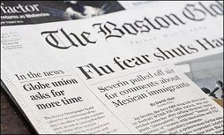 nytimes to file notice it will close boston globe