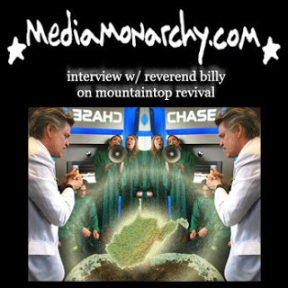 interview w/ reverend billy on mountaintop revival