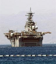 uss harry truman just off iran, as israel plots imminent tehran raid