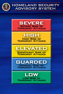 US to drop color-coded terror alerts