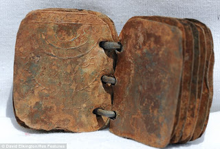 metal books found in jordan cave could change biblical history