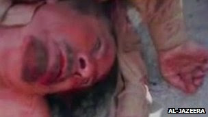 gaddafi reportedly killed as western-backed 'liberation' continues