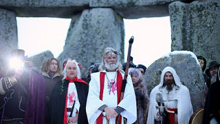 winter solstice 2011: pagan celebrations mark shortest day of the year