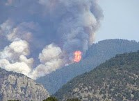Fires Force Evacuation of Ghost Town In New Mexico