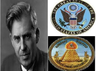 Occultist and 33rd Vice President:  Henry A Wallace