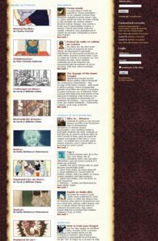 Website pentru Tărâmul lui Andilandi