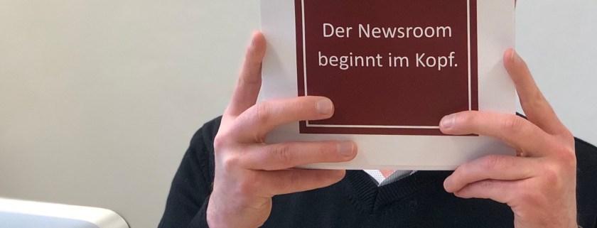 Mediamoss Der Newsroom beginnt im Kopf