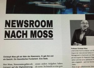 Newsroom nach Moss