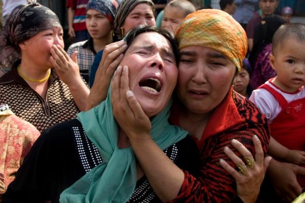مسلمات الإيغور