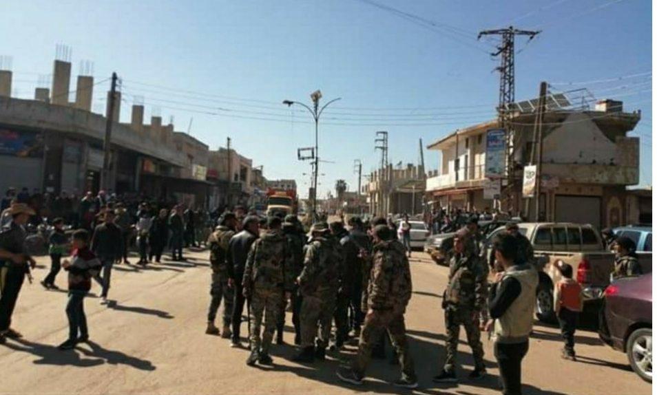 """جيش النظام بدخل مدينة """"طفس"""" لأول مرة منذ سنوات"""