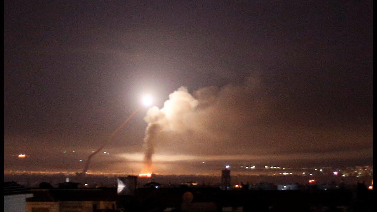 قصف إسرائيلي جديد على محيط دمشق