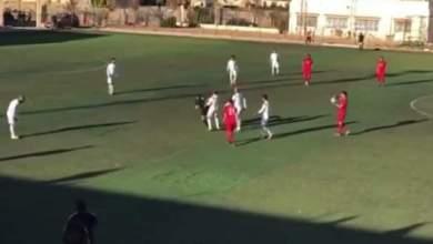 مباراة في الدوري السوري تتحول إلى حلبة ملاكمة